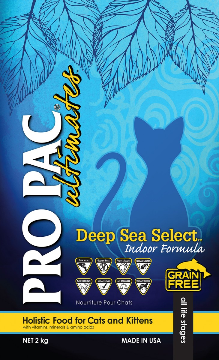 Pro Pac Deep Sea Select Indoor - беззерновой корм для домашних кошек