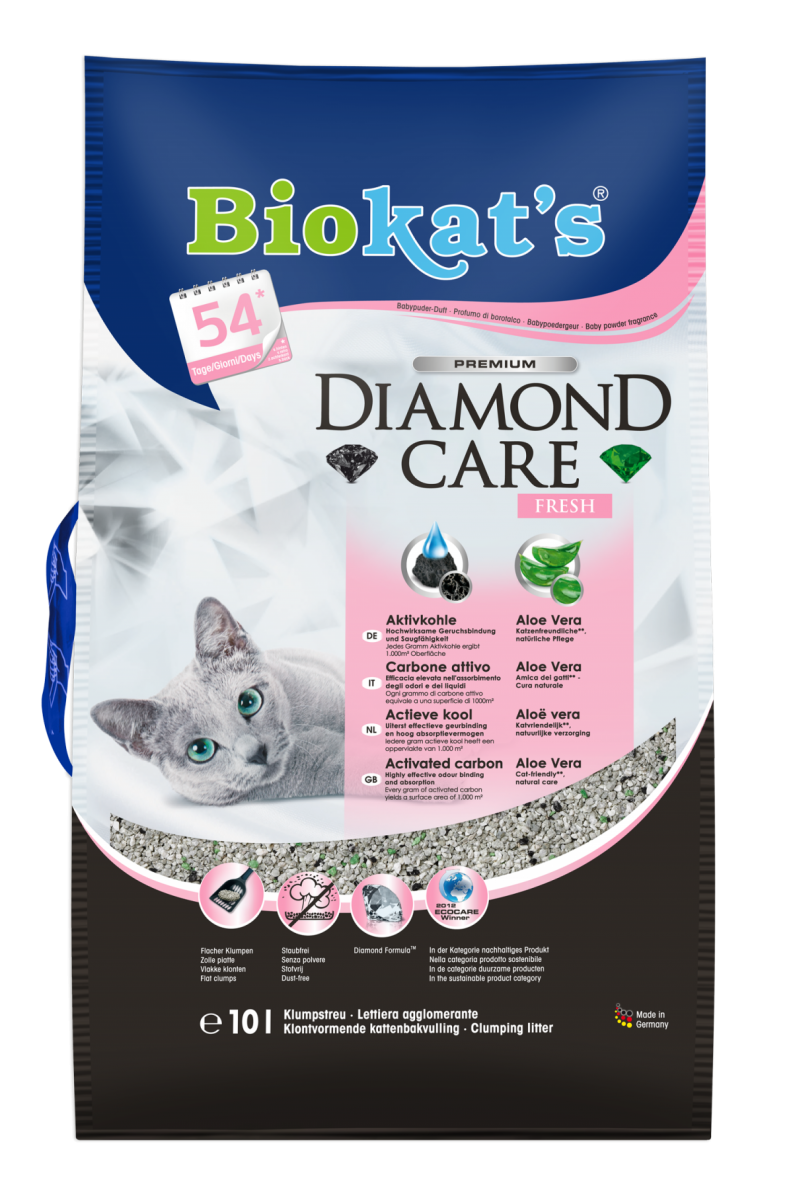 Наполнитель Gimpet Biokat's DIAMOND FRESH