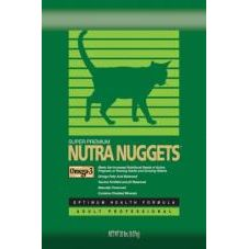 Сухой корм для домашних кошек с длинной шерстью Nutra Nuggets INDOOR HAIRBALL CONTROL FORMULA
