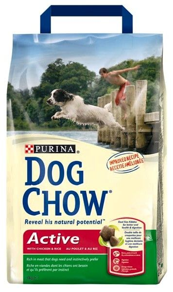 Сухой корм для активных собак Дог Чау Dog Chow Active 14 кг