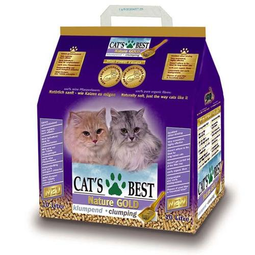 Наполнитель Cat's Best NATURE GOLD